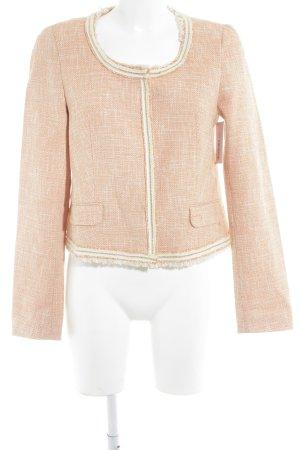 Mexx Tweed blazer wit-abrikoos elegant