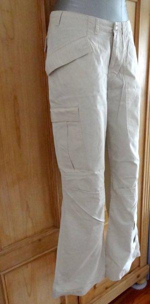 Mexx Pantalon cargo beige clair