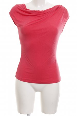 Mexx Cowl-Neck Top red casual look