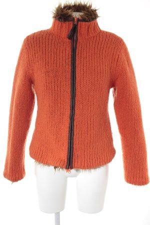 Mexx Omkeerbaar jack oranje-bruin straat-mode uitstraling