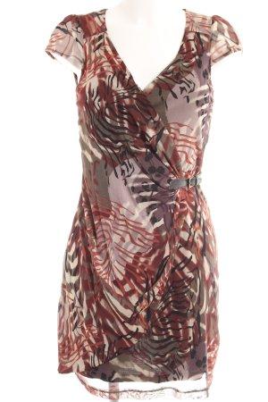 Mexx Robe portefeuille motif floral style décontracté