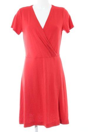 Mexx Robe portefeuille rouge clair style décontracté