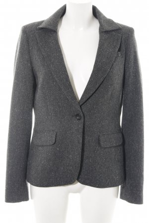 Mexx Woll-Blazer silberfarben meliert Business-Look