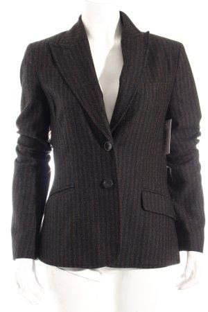 Mexx Woll-Blazer schwarz-braun klassischer Stil