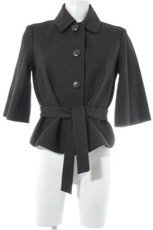 Mexx Woll-Blazer schwarzbraun Vintage-Look