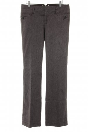 Mexx Woolen Trousers grey brown business style