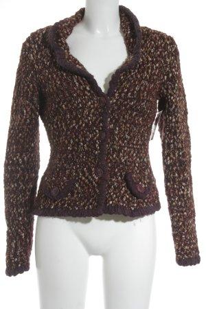 Mexx Veste en laine motif abstrait élégant
