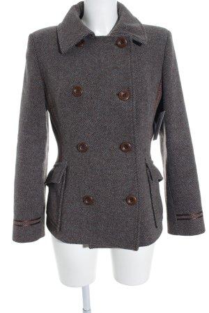 Mexx Veste en laine gris brun-turquoise gradient de couleur style classique