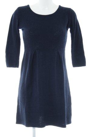 Mexx Vestido de lana azul oscuro look casual