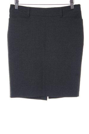 Mexx Gonna di lana grigio scuro puntinato stile professionale