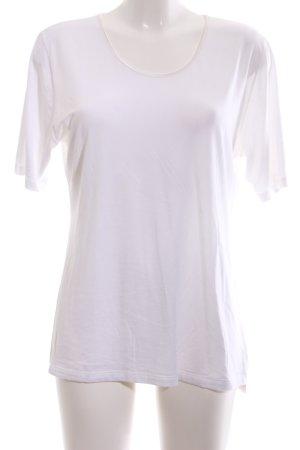 mey T-Shirt weiß Casual-Look