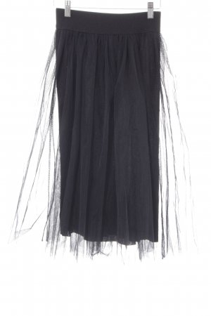 mey Gonna di tulle nero elegante