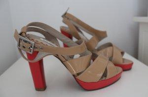 Mi Piaci High Heels, Sandaletten, Gr. 37, pink/ nude, NEU
