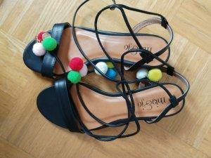 Spartiate multicolore faux cuir