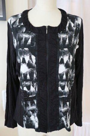 Micha Veste chemise noir-blanc viscose
