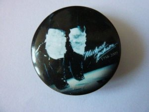 Michael Jackson Button Pin Anstecker