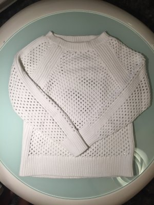 Michael Kors Coarse Knitted Sweater white