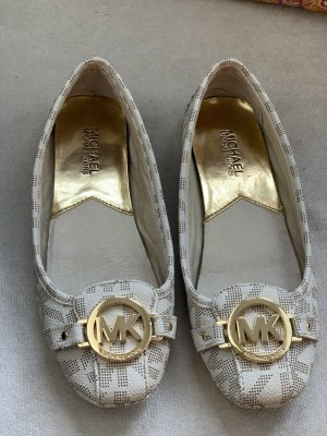 Michael Kors Foldable Ballet Flats oatmeal-cream