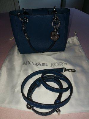 Michael Kors Sac à main bleu pétrole