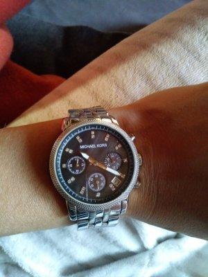 Michael Kors Analoog horloge zilver Edelstaal