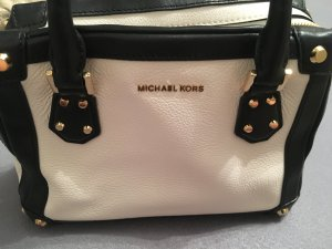 Michael Kors Carry Bag natural white-dark blue
