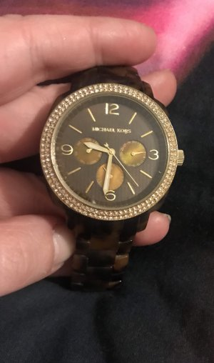 Michael Kors 5086 Damen Armbanduhr Uhr Watch Leo Leopard Chrono