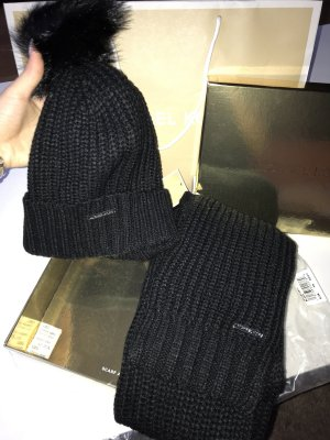 Michael Kors Chapeau en tricot noir