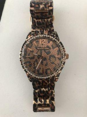 Michael Kors Orologio con cinturino di metallo marrone