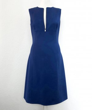 Michael Kors . A-Linien Kleid aus Seide und Baumwolle