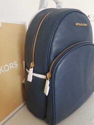 Michael Kors Abbey Backpack Medium Rucksack navy blau NEU