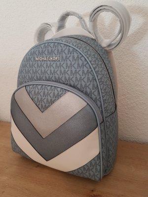 Michael Kors Abbey backpack Rucksack Pale Blue hellblau Silber Neu