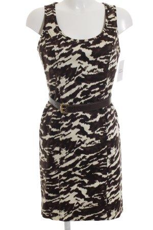Michael Kors Abendkleid braun-creme Casual-Look