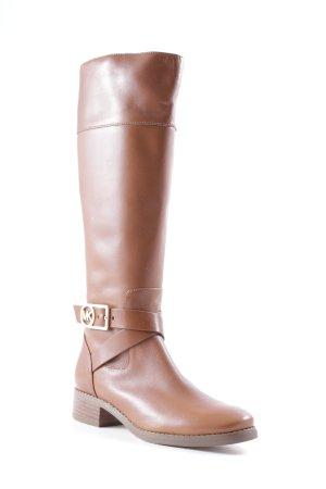 Michael Kors Heel Boots cognac-coloured classic style