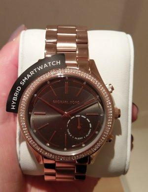 michael kors access mkt4005 smartwatch hybrid rosė edelstahl
