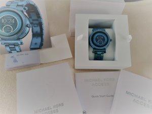 Michael Kors Montre bleu acier