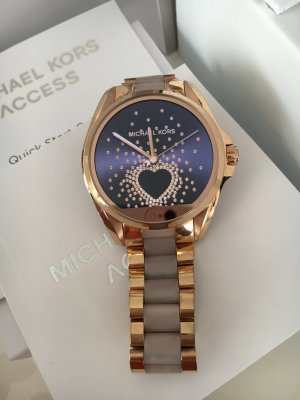 Michael Kors Digital Watch rose-gold-coloured stainless steel