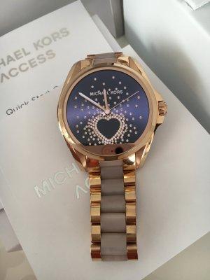 Michael Kors Reloj digital color rosa dorado acero inoxidable