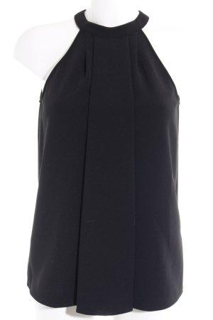Michael Kors ärmellose Bluse schwarz Elegant