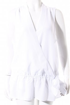 Michael Kors Sleeveless Blouse white simple style