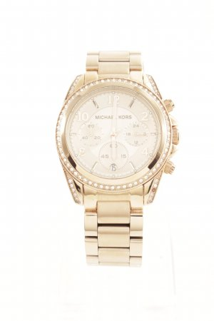 "Michael Kors Montre analogue ""Blair Chronograph Watch Rose Gold-Tone"""