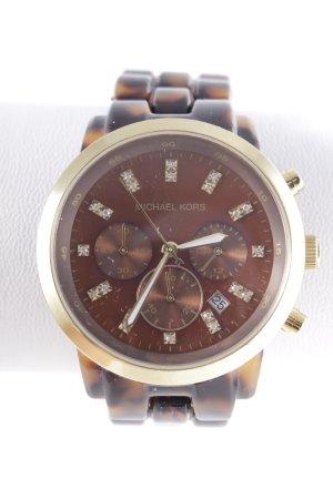 Michael Kors Analoog horloge bruin-goud elegant