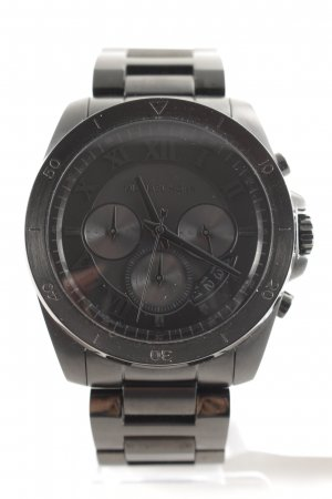 "Michael Kors Analoguhr ""Brecken Gents Chronograph Black"" schwarz"