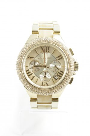 Michael Kors Montre analogue doré style mouillé