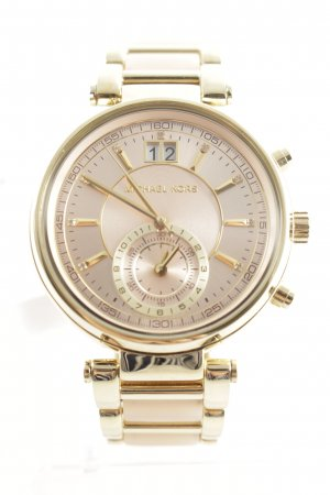 "Michael Kors Analoguhr ""Ladies Sawyer Watch Gold Rose"""