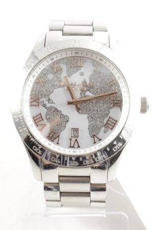 "Michael Kors Analog Watch ""Layton Rhinestone Silver-Tone Watch"""