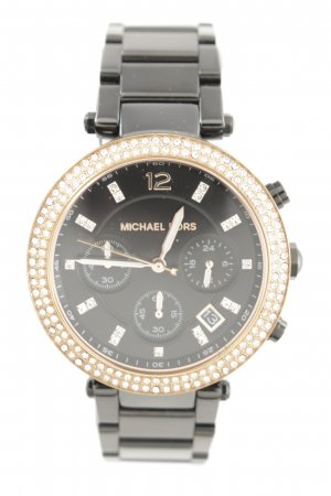 "Michael Kors Analoguhr ""Parker Watch Black/Rosegold"""