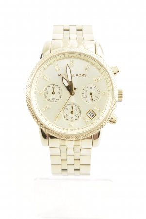"Michael Kors Analoguhr ""Ritz Chronograph Watch Gold Tone"" goldfarben"