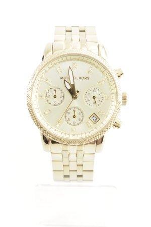 "Michael Kors Analog Watch ""Ritz Chronograph Watch Gold Tone"" gold-colored"
