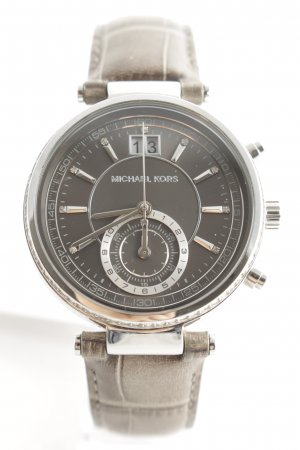 "Michael Kors Montre analogue ""Sawyer Ladies Watch Silver/Grey"""