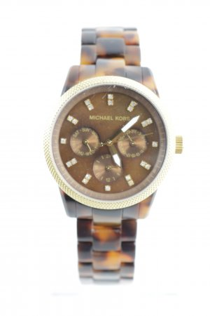 Michael Kors Analog Watch tortoise pattern casual look